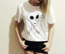 Load image into Gallery viewer, Thank You For Believing in Me Alien T-Shirt