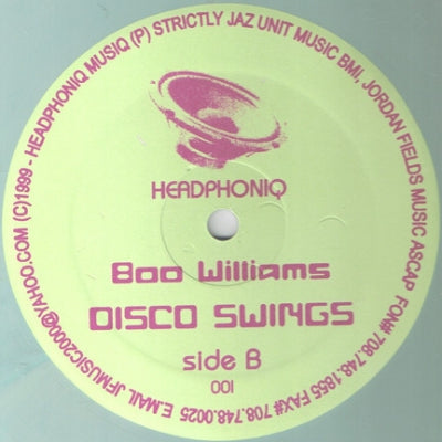 BOO WILLIAMS - Mars / Disco Swings