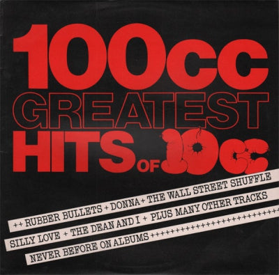 10CC - 100cc - Greatest Hits Of 10cc