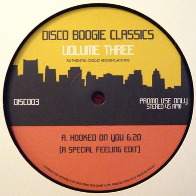 CERRONE / O.R.S. / D-TRAIN - Disco Boogie Classics - Volume Three