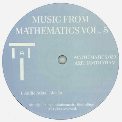 AUDIO ATLAS / SIMONCINO / SOULOMON - Music From Mathematics Vol. 5