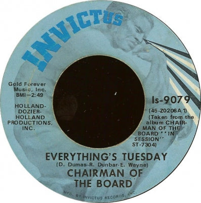 CHAIRMEN OF THE BOARD - Everything's Tuesday / Patches