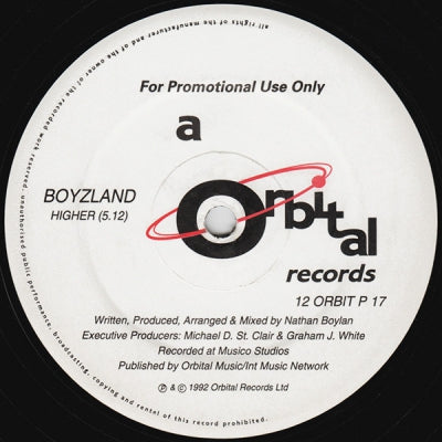 BOYZLAND - Higher / The Rush