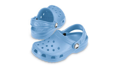 Original Crocs Cayman in Light Blue with FREE Jibbitz Charms