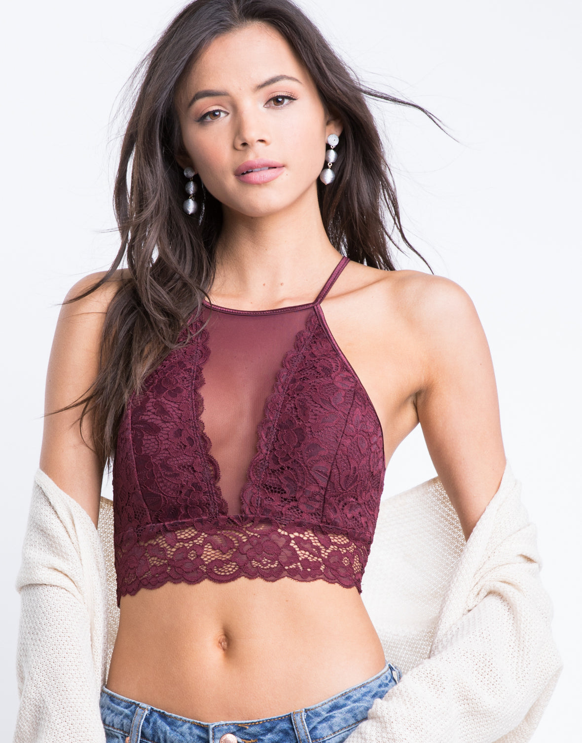Oh So Lacey Bralette