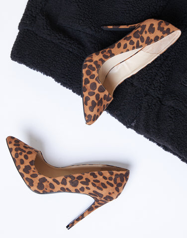 Step It Up Leopard Heels