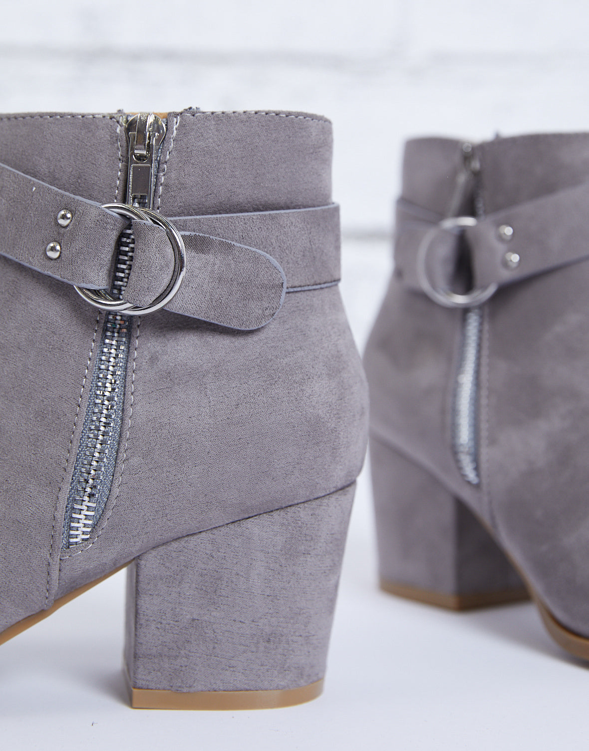 The Right Move Buckle Booties