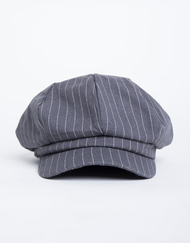 Striped Baker Boy Hat - 2020AVE