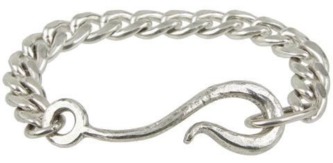 Large Hook Chain Bracelet