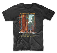 Vintage Yosemite National Park Poster Shirt