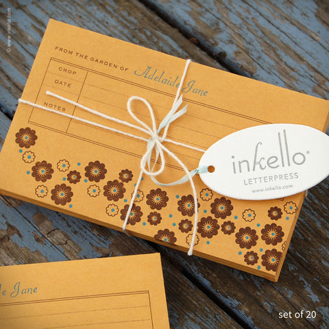 Flower Personalized Seed Envelopes (#288)