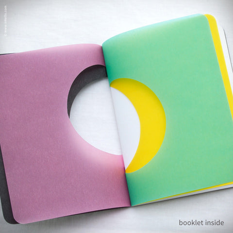 Color Wheel Booklets (#398) Booklet - Inkello Letterpress