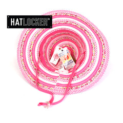 Millymook Sweetheart Pink Kids Floppy Hat Australia