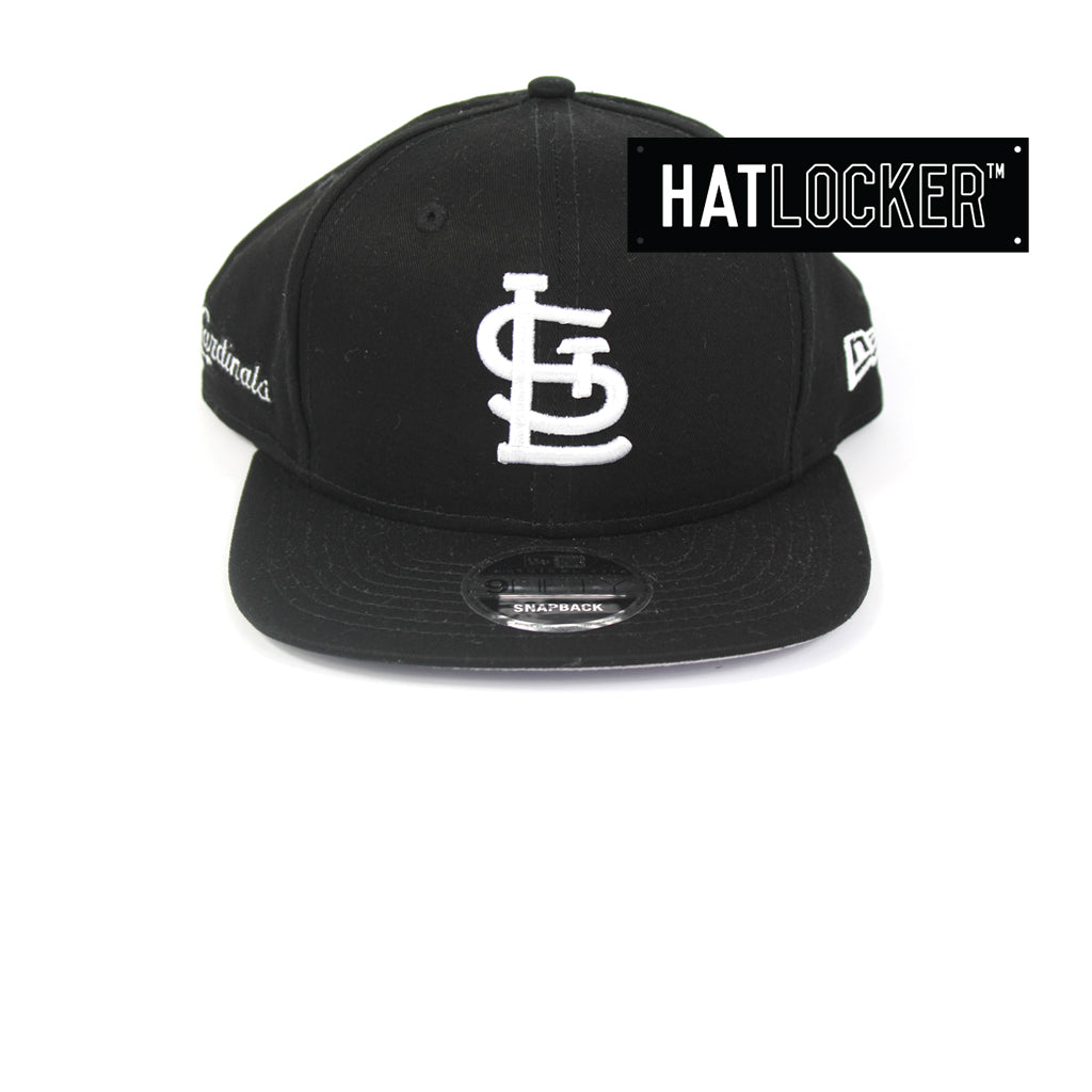 New Era St Louis Cardinals Cotton Side Hit Snapback Cap