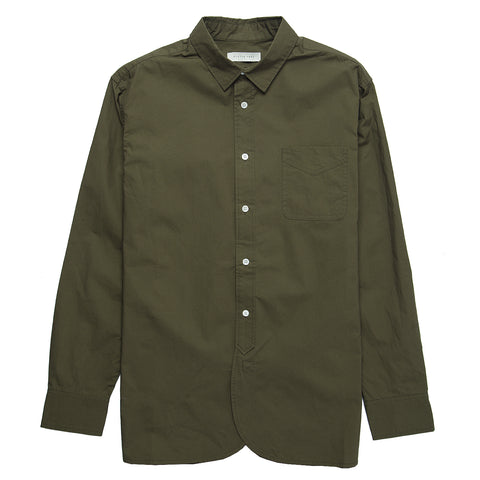 Liverpool Heavyweight Work Shirt - Olive