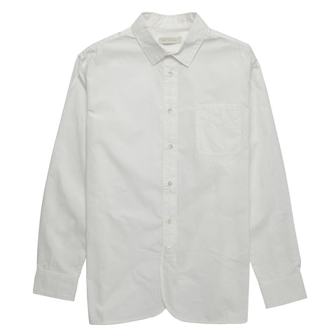 Liverpool Heavyweight Work Shirt - White
