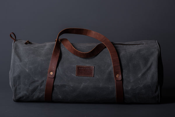 The Weekender Duffel - Charcoal - Bradley Mountain x Manready Mercantile