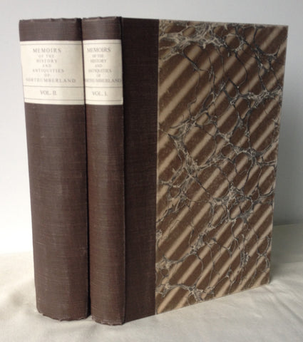 C H Hartshorne - History and Antiquities of Northumberland - Two Volumes UK 1st 1858