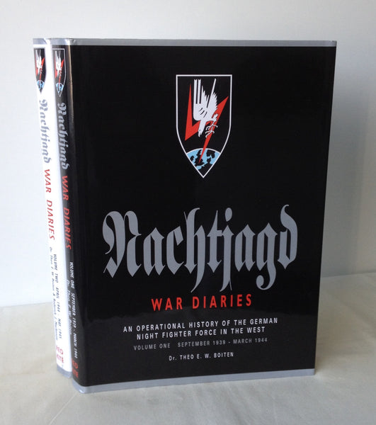 Theo Boiten - The Nachtjagd War Diaries: An Operational History of the German Night Fighter Force - Two Volumes