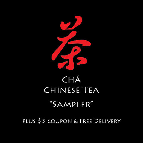 "Chá Chinese Tea ""Samplers"""
