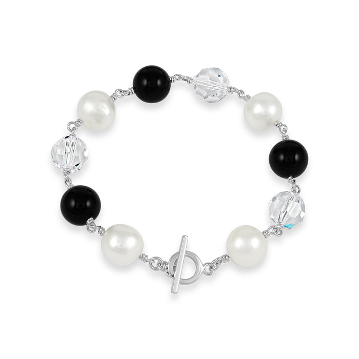 Copy of Sterling Silver Fusion Gem Bracelet