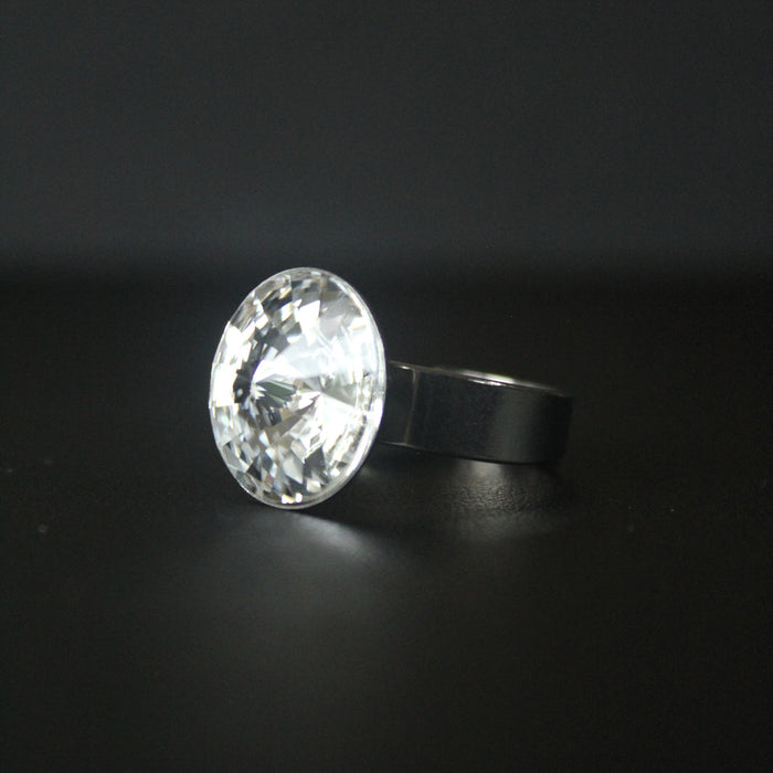 Ceroc Swarovski Crystal Ring (Crystal Clear)