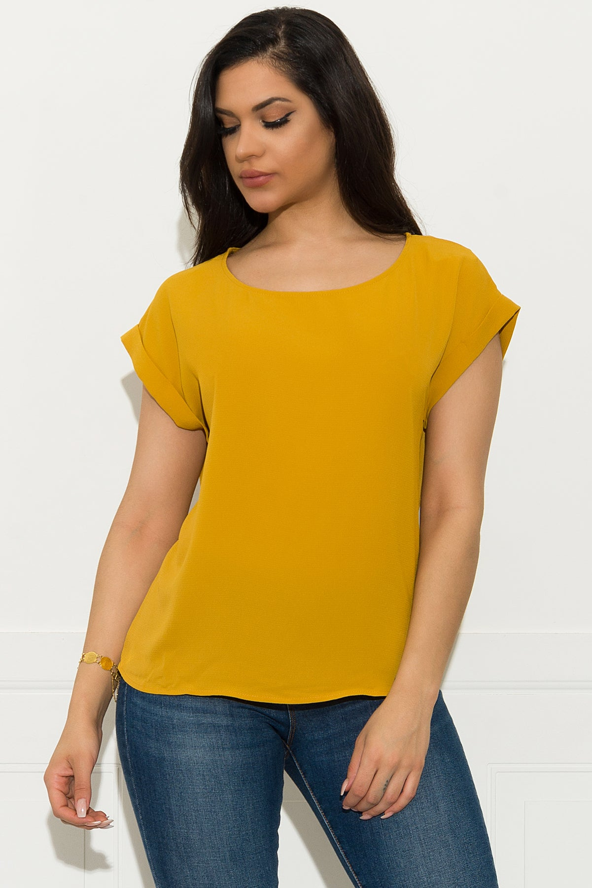 Juliana Blouse - Mustard