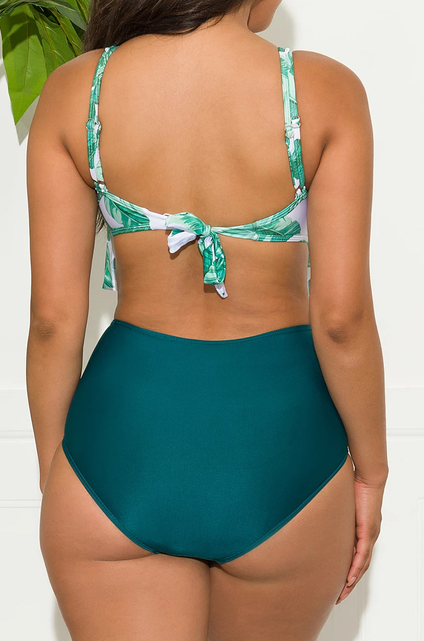 North Palm Beach Two Piece Swimsuit - Green
