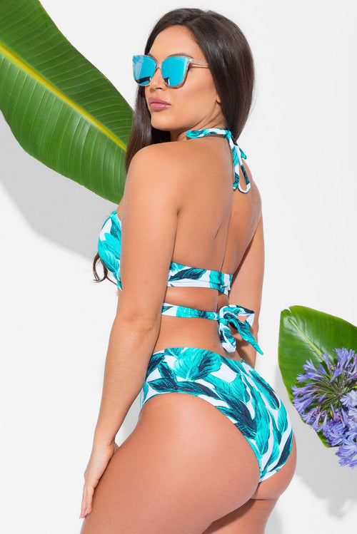 Long Coast Two Piece Swimsuit