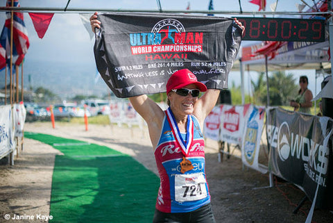 Ultraman World Champion Kate Bevilaqua