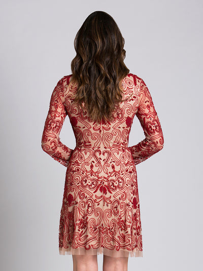 SML33414 - Unique And Fashionable, This Trendy Cocktail Dress