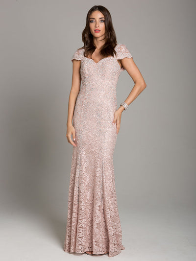 SMC33491 - Sparkling Jewel Fishtail Evening Gown