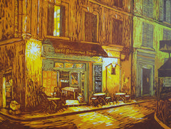 """Late Night at the Corner Cafe"""