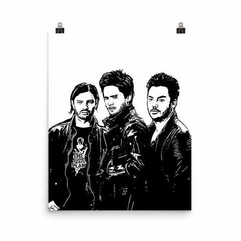 30 SECONDS TO MARS 11x17 Art Poster