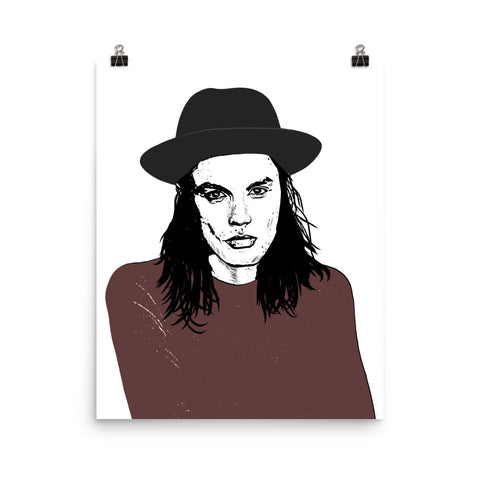 JAMES BAY 11x17 Art Poster