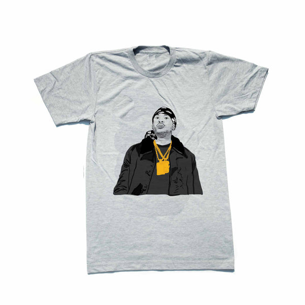 Meek Mill Grey Tee (Unisex) // T-shirt // Babes & Gents // www.babesngents.com