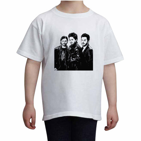 30 seconds to mars Kids White Tee (Unisex)