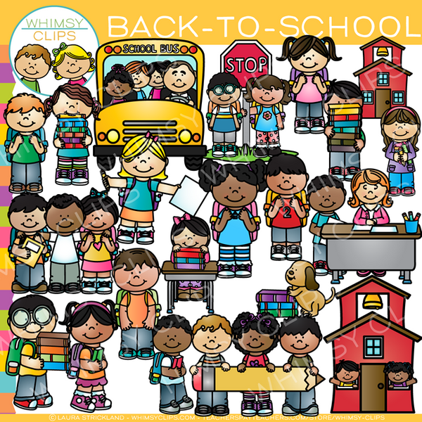 Back-To-School Time Clip Art