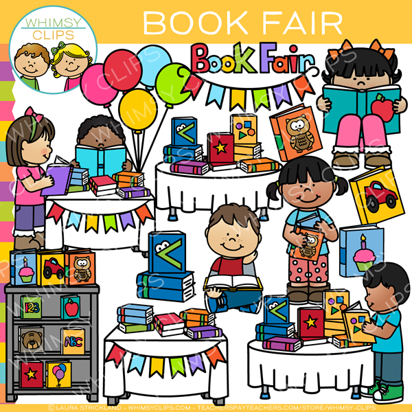 School Book Fair Clip Art