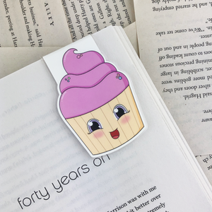 Cupcake Magnetic Bookmark