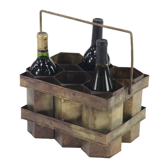 Metal 6 Bottle Holder