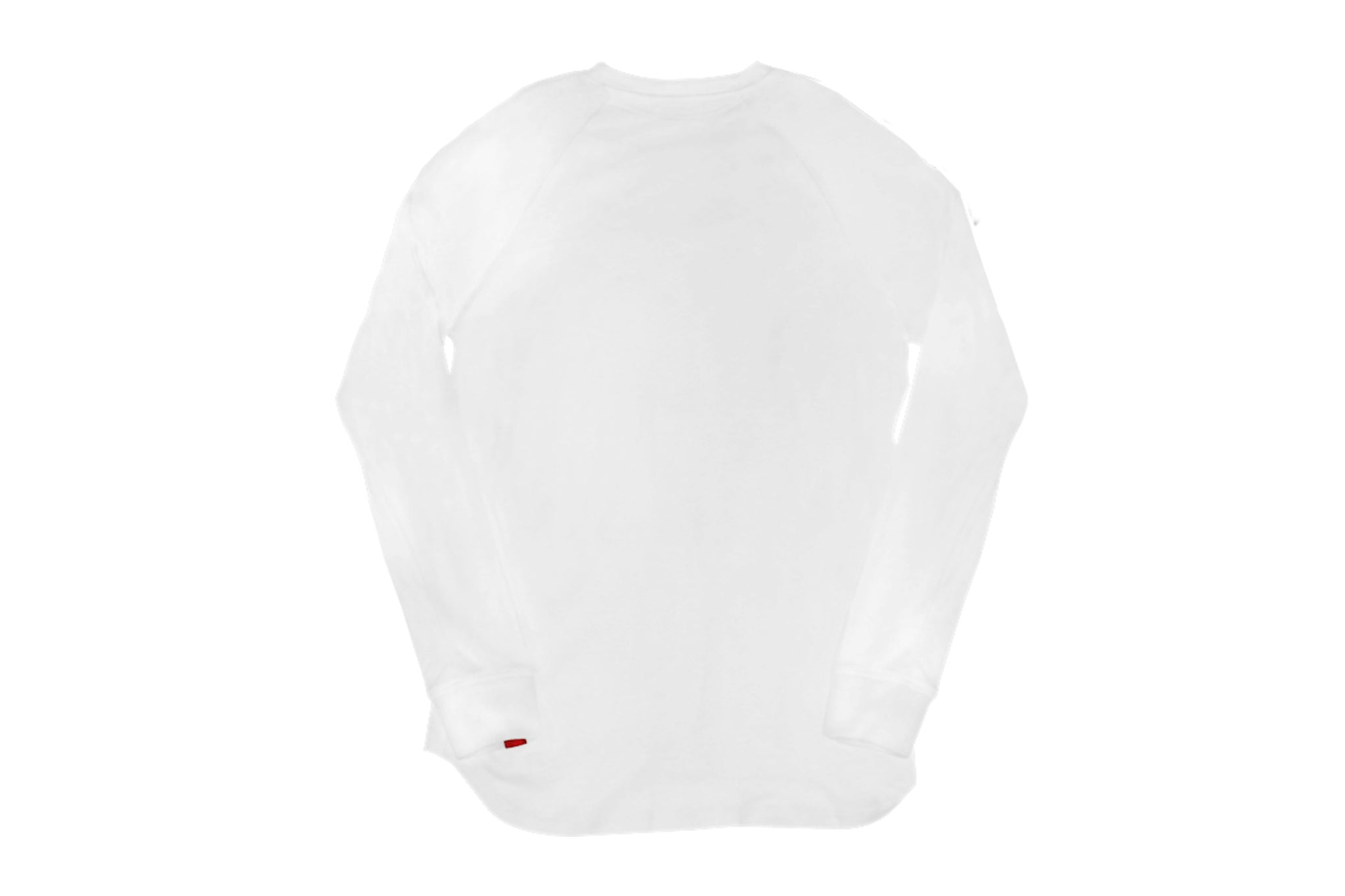 Warren Peace - Remy Long Sleeve T-Shirt in White Back - Designer Streetwear