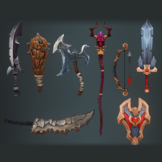 Weapons - Deadly Fantasy Weapons - Mafubash