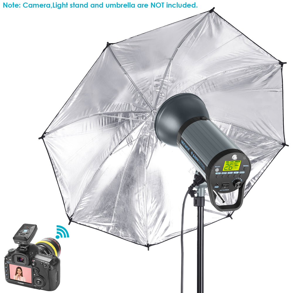 Neewer Q600N 600W GN82 Studio Strobe Monolight with Trigger,Modeling Lamp,Bowens Mount - neewer.com
