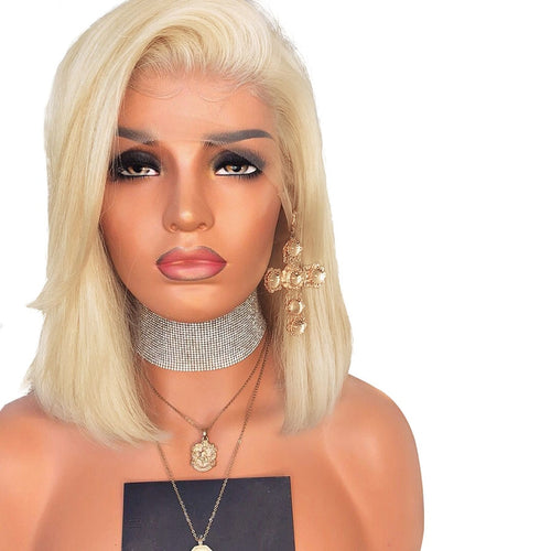 613 Blonde 13*4 Lace Front Wig Pre Pluck Natura