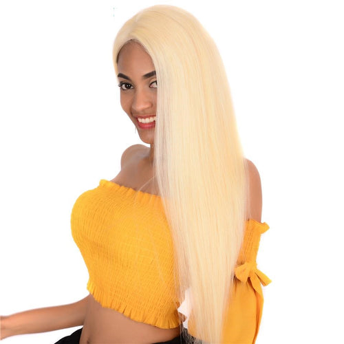 Honey Blonde 13X4 Lace Front Human Hair 130 150 180 250 Density Wigs