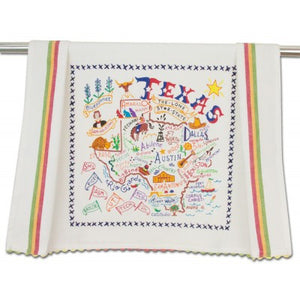 Texas Dish Towel