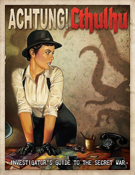 Achtung! Cthulhu - Investigator's Guide to the Secret War (Print & PDF Bundle)