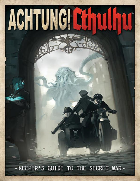 Achtung! Cthulhu - Keeper's Guide to the Secret War (Print & PDF Bundle)