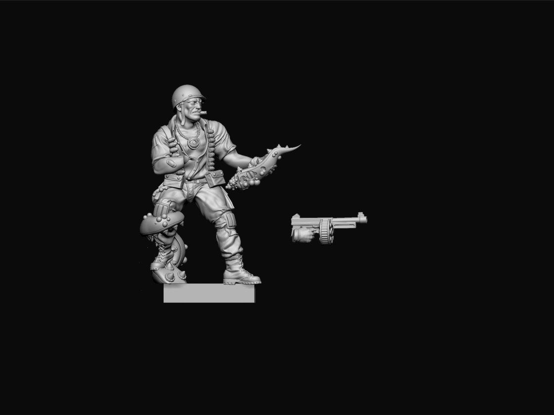 Achtung! Cthulhu Miniatures - Allied Investigators Pack 1